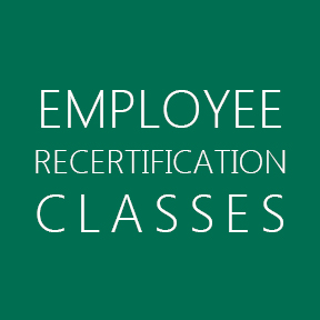 Employee Recertification Classes